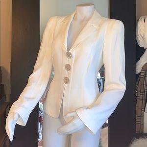 Armani collezioni blazer sz 8 fit s/m like new